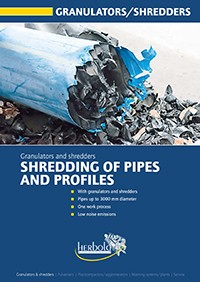 Pipes and Profiles Granulators and Shredders