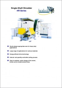 Single-Shaft Shredder HR Series