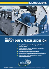 Herbold Heavy Duty Granulators SMS Series